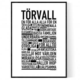 Törvall Poster
