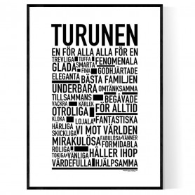 Turunen Poster