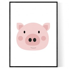 Little Piggy Poster
