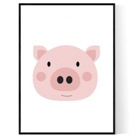 Little Piggy Poster