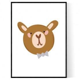 Cute Bear Poster
