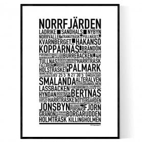 Norrfjärden Poster