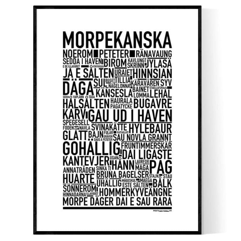 Morpekanska Poster