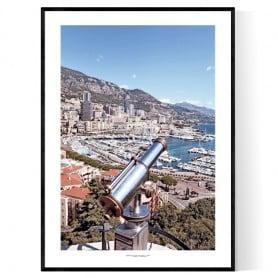 Monaco Port Poster