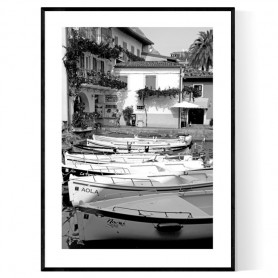 Limone Boats Poster