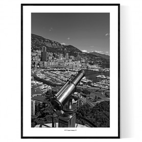 Monaco Port Black&White