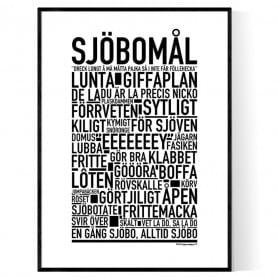 Sjöbomål Poster