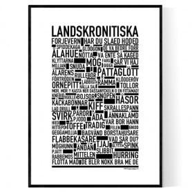Landskronitiska Poster