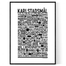 Karlstadsmål Poster