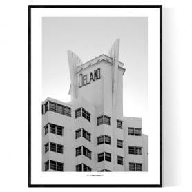 Miami Delano Poster