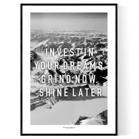 Invest in Dreams Poster