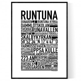 Runtuna Poster