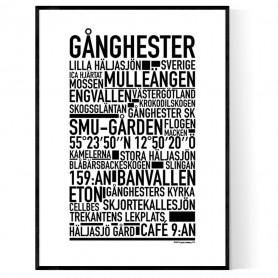 Gånghester Poster