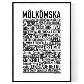 Molkomska Poster