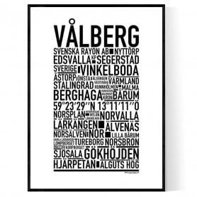 Vålberg Poster