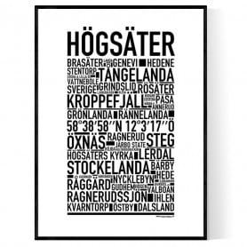 Högsäter Poster
