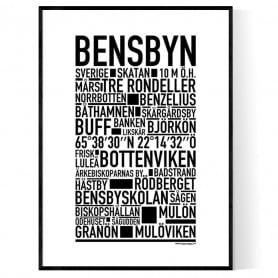 Bensbyn Poster