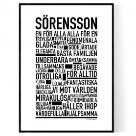 Sörensson Poster