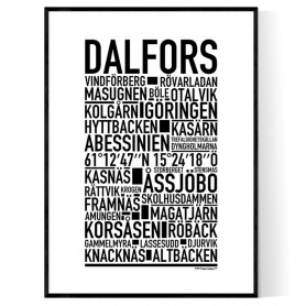 Dalfors Poster