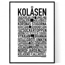 Kolåsen Poster