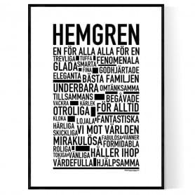 Hemgren Poster