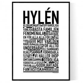 Hylén Poster