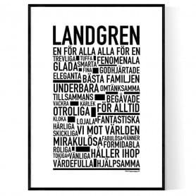 Landgren Poster