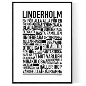Linderholm Poster