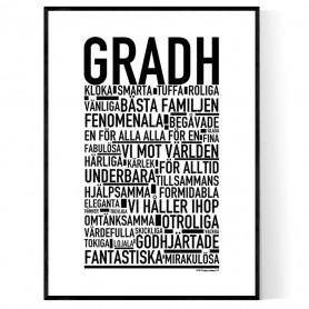 Gradh Poster