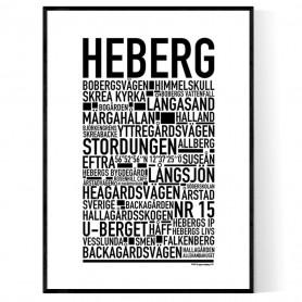 Heberg Poster