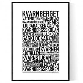 Kvarnberget Poster