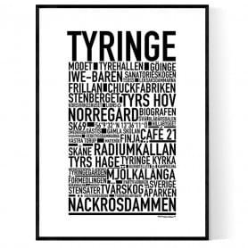 Tyringe Poster