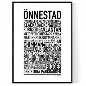 Önnestad Poster