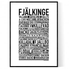 Fjälkinge Poster