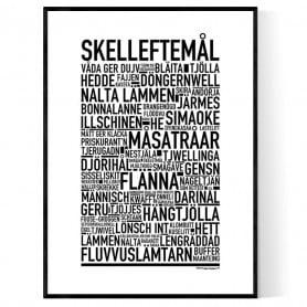 Skelleftemål Poster