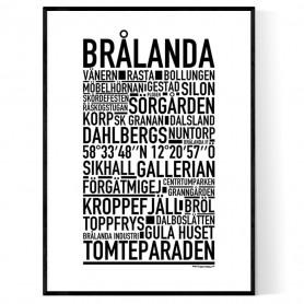 Brålanda Poster