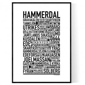 Hammerdal Poster