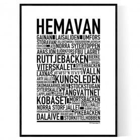 Hemavan Poster