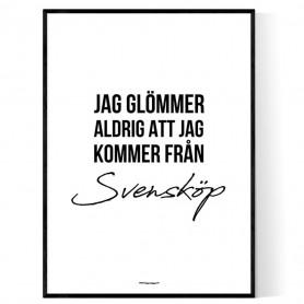 Från Svensköp