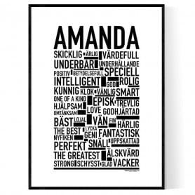 Amanda V2 Poster