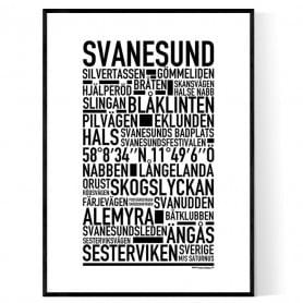 Svanesund Poster