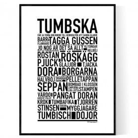 Tumbska Poster