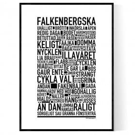 Falkenbergska Poster