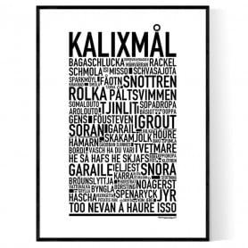 Kalixmål Poster