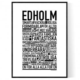 Edholm Poster