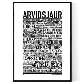 Arvidsjaur Poster
