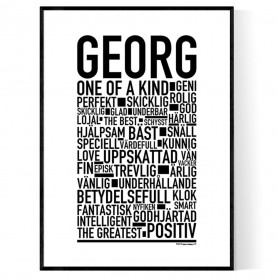 Georg Poster
