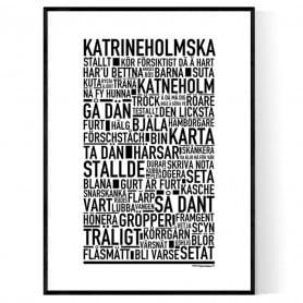 Katrineholmska Poster