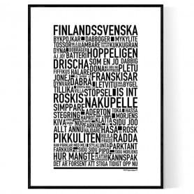 Finlandssvenska Poster