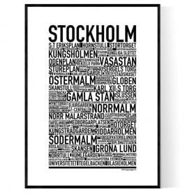 Stockholm 2021 Poster